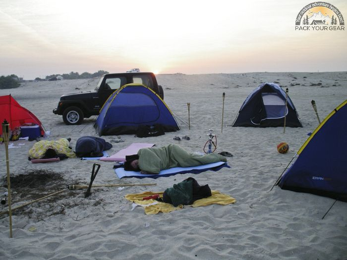 Decide Camping In Car Or Hike