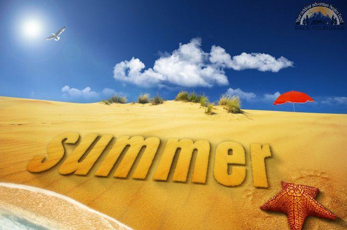 Beach Hot Summer