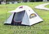 Best Camping Tents For 4 Persons