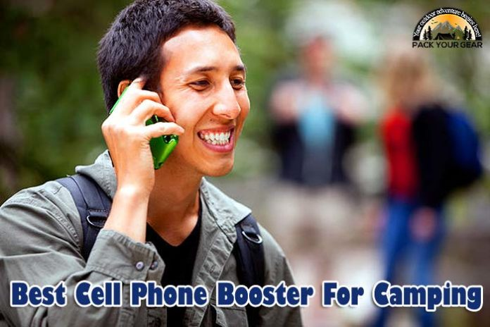 BEST Cell Phone Booster for Camping