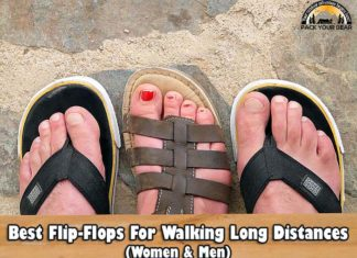 Best Flip Flops for Walking Long Distance