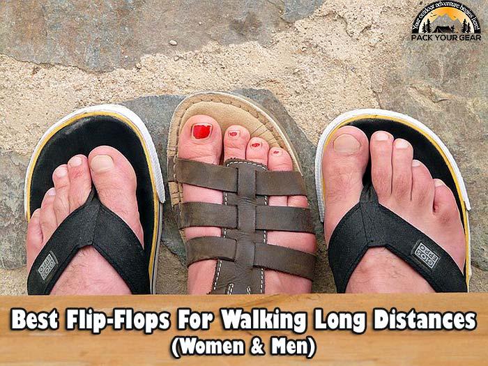 14 BEST Flip Flops For Walking Long