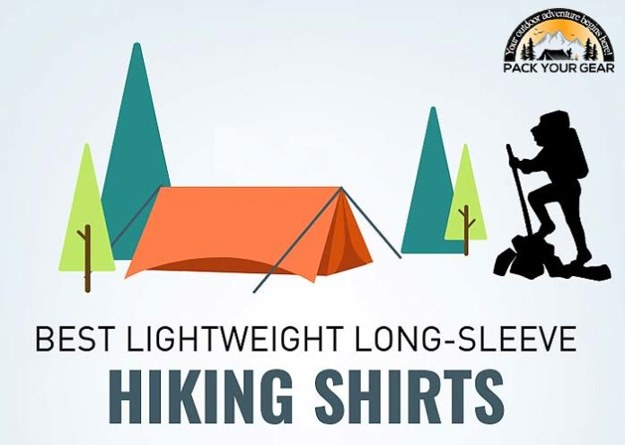 best lightweight long sleeve hiking shirt