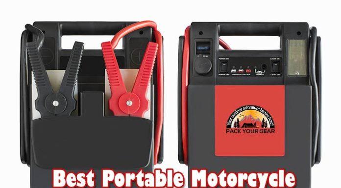 Best Portable Motorcycle Battery Jump Starter
