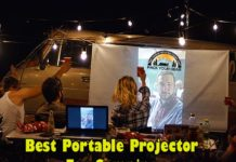 Best Portable Projector For Camping