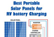 Best Portable Solar Panels For RV Battery Charging