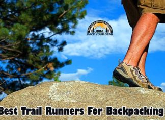BEST Trail Runners for Backpacking