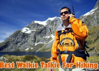 Best Walkie Talkie For Hiking