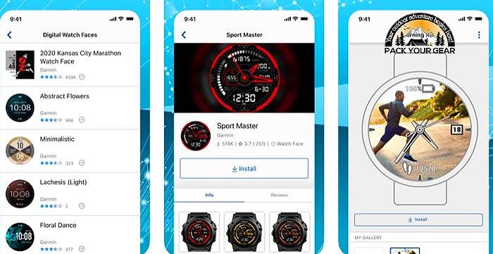 Garmin/Suunto Watch Apps