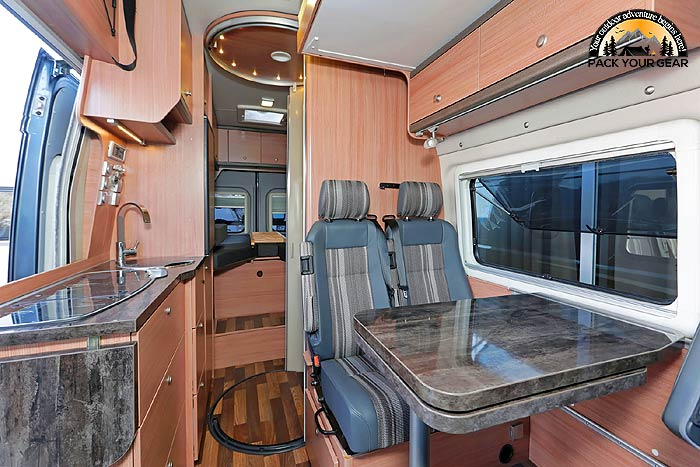 Keep RV kitchen doors open