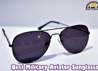 Military Aviator Sunglasses
