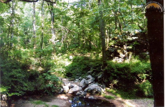 Russell Cave stream