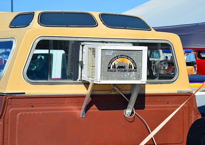 Window AC on Camper Van